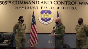 Hurlburt Airman Receives MAJCOM Award for Command and Control Battle Management