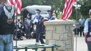 Brig. Gen. Lyle Cameron Funeral Flyover Video