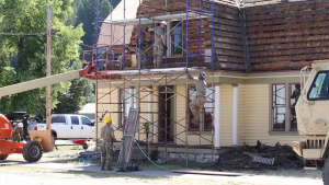 176th Engineers help renovate Northport home