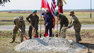 US Army engineers break ground, enhance Polish infrastructure