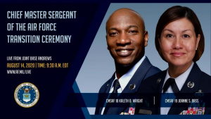 Chief Master Sgt of The Air Force Transition Ceremony