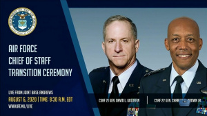 Air Force Chief of Staff Transition Ceremony