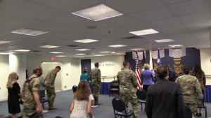Maj. Gen. B. Chance Saltzman promotion