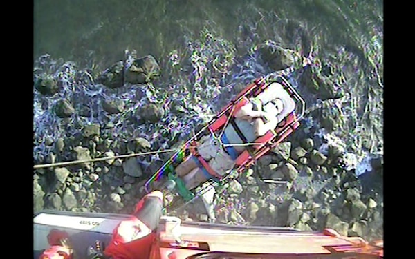 Coast Guard medevacs fallen hiker near Hoh, WA