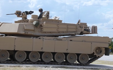 1st Cavalry Division's GREYWOLF Brigade First to Receive New Abrams Tank