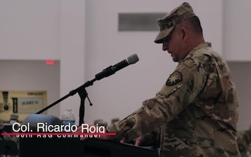 254th Transportation Battalion change of command ceremony