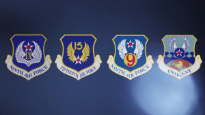 15th Air Force activation, AFCENT redesignation ceremony