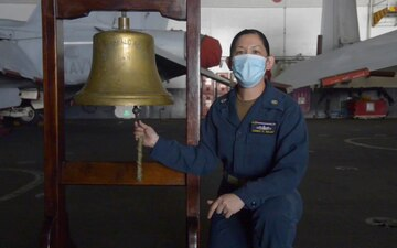 USS Ronald Reagan Rings in the New School Year