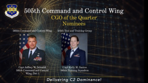 505th Command and Control 2Q Awards Ceremony