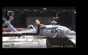 Combat Rescue Helicopter test at McKinley Climatic Laboratory