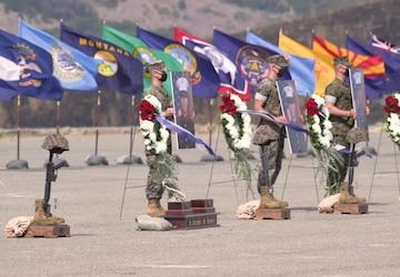 Battalion Landing Team 1/4 honors Marines, Sailor at memorial service