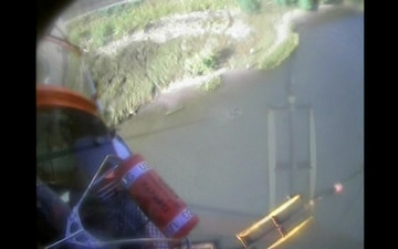 Coast Guard rescue two crew members after dredge vessel fire