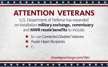Army & Air Force Exchange Service Veteran Benefits 2020