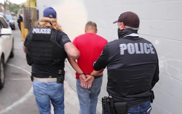 ICE announces last 30 days of enforcement actions targeting individuals with arrests or convictions for assault, domestic violence, other crimes.