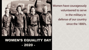 Women's Equality Day Salute
