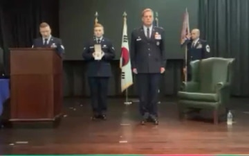 694th ISRG Change of Command