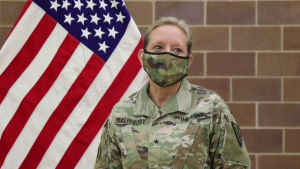 Brig. Gen. Beth Salisbury Discusses Her Army Reserve Experience