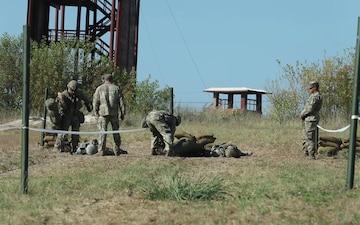 Fort Hood Troopers Conduct ESB/EIB Medical Testing