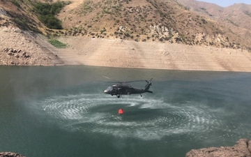 Idaho National Guard prepares to assist the California wildland fires