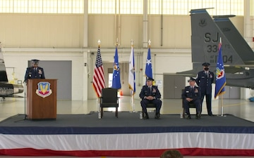 Air Combat Command Change of Command Ceremony