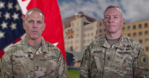 U.S. Army South command team welcome video