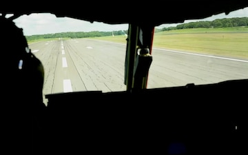 Wing Commander completes first local flight