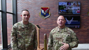 Col. Greene and CCMSgt Colon Welcome PSA