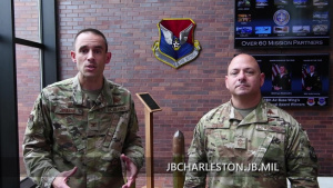 Col. Greene and CCMSgt Colon Website PSA