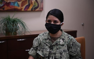 U.S. Navy critical care nurse discusses U.S. Army behavioral health teams assisting Sailors with stress management and encouraging resiliency