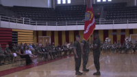 26th Marine Expeditionary Unit conducts Change of Command Ceremony