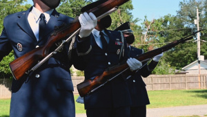 Inspired to serve: Little Rock CGO joins base honor guard