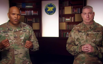 The Army Inspector General and IG Sergeant Major address IGs