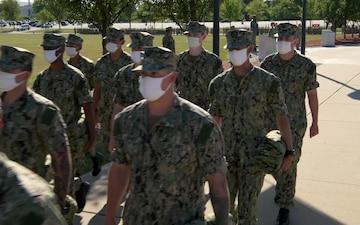 Navy Recruit Training Command Graduation Sept. 4, 2020