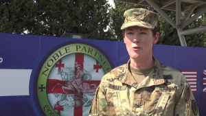 Noble Partner 20 Opening Ceremony Interviews. Col. Bagley