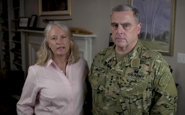 Gen. Mark and Hollyanne Milley's message on Suicide Prevention Month