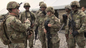 177th Brigade Engineer Battalion Weapons Familiarization