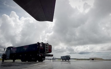 Airmen from the 36th Logistics Readiness Squadron are fueling the fight during exercise Valiant Shield