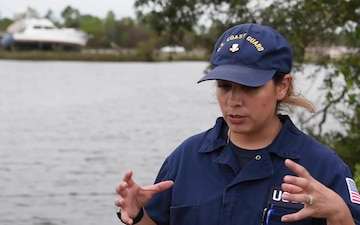 Coast Guard Conducts Pollution and Damage Assessments across the Gulf Coast after Hurricane Sally