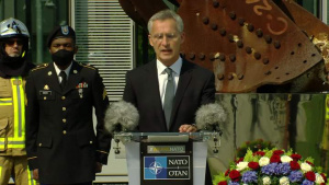 NATO Secretary General and U.S. Permanent Representative to NATO deliver remarks in commemoration of 19th anniversary of the 9/11 terrorist attacks
