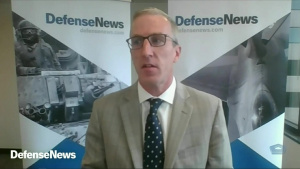 Deputy Defense Secretary Speaks at Defense News Conference