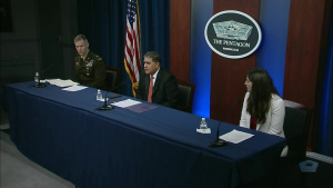Top Defense Officials Hold News Conference on Artificial Intelligence