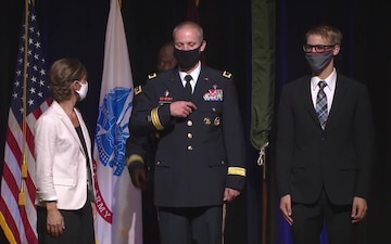 Colonel Peder L. Swanson Promotion Ceremony to Brigadier General