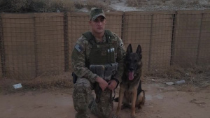 MWD Frenky retires after eight years of service