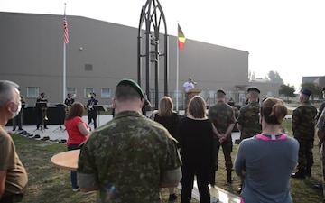 We Remember, USAG Benelux 9/11 remembrance ceremony