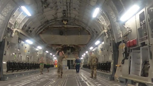 Task Force Spartans' 2nd BCT, 1st Armored Division Conduct C17 Load Out Training