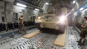 Task Force Spartans' 2nd BCT, 1st Armored Division Sends Bradley's to Support CJTF-OIR