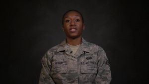Staff Sgt. Brianna Sands Shares Her Story