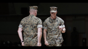 Muller retires; new senior enlisted takes post at Combat Center