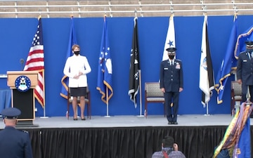 US Air Academy Superintendent Change of Command