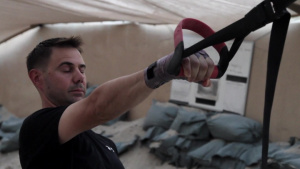 Spartan Soldiers Take up Boxing to Stay in Shape